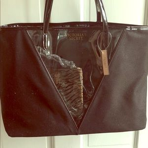 Victoria's Secret Bag with Cosmetic Case